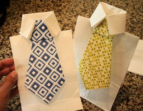 Neck Tie Paper Craft
