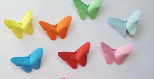 Paper Butterfly Design