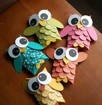Paper Crafted Owl