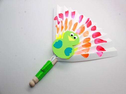 Paper Fan Craft