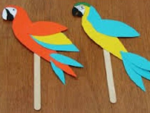 Parrot Bookmark