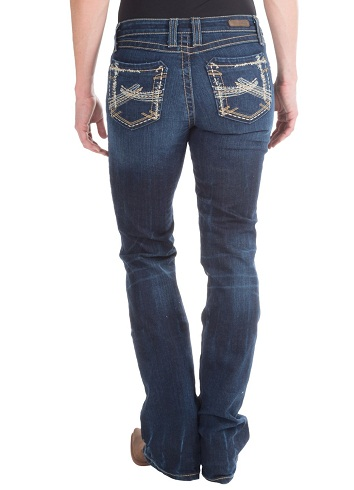 Patchwork Jeans for Women