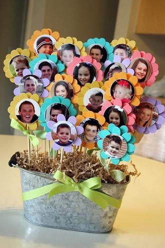 Personalized Floral Pot