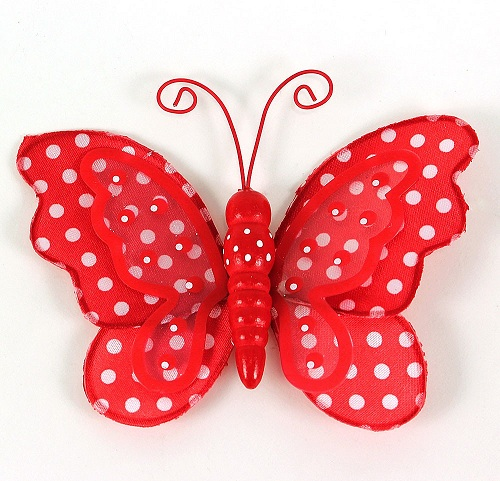 Polka Dot Butterfly Craft