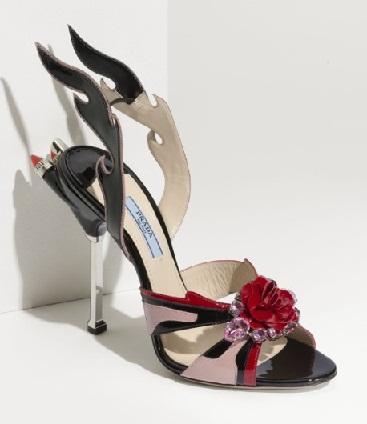 Prada Tail Designer Sandals