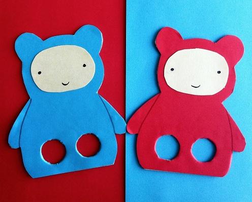 Puppet Teddy Bear