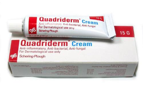Quadriderm Cream for Jock Itch