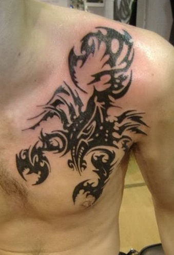 Scorpion Tattoo For Men