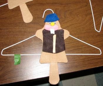 Scout Beaver Hanger