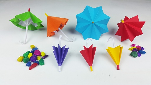 9 Awesome Umbrella Craft Decoration Ideas For Kids And Toddlers