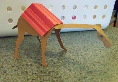 Simple Elementary Camel Crafts