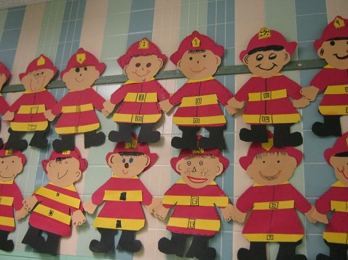 Simple Fireman Crafts