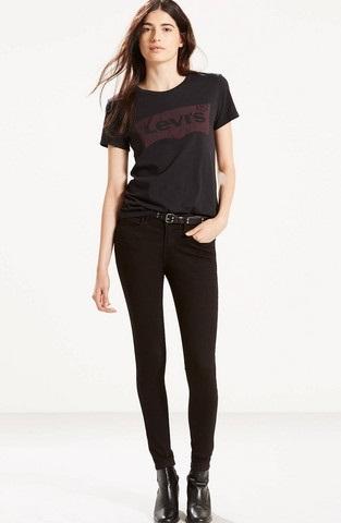 Sizzling Levis Black Jeans for Women