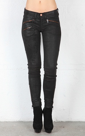 Skinny Leather Jean