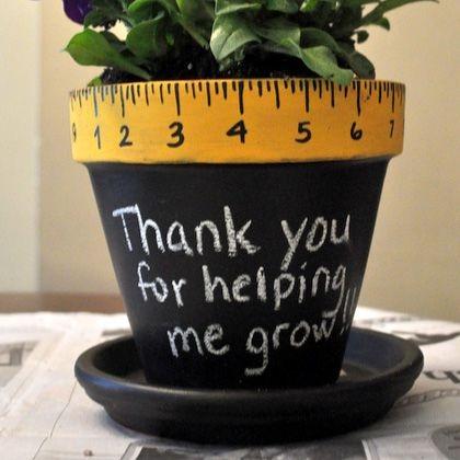 Thank you Floral Pot