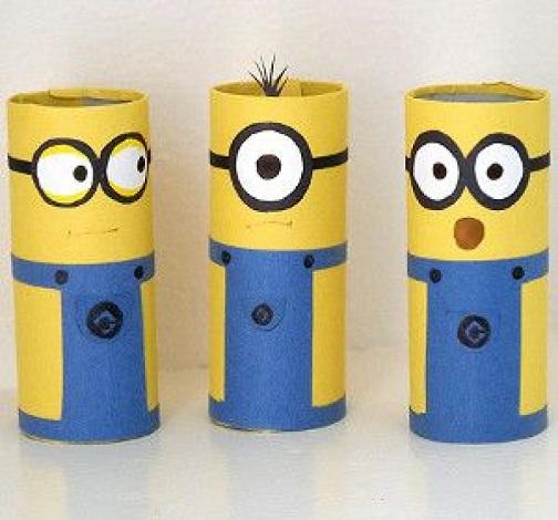 Toilet Paper Minions