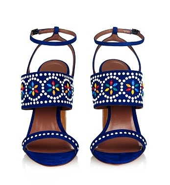 Traditional Beaded Designer Sandals