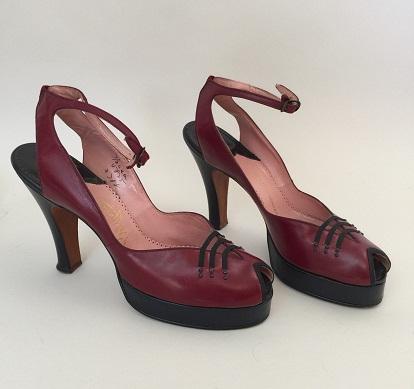 Vintage Designer Sandals: