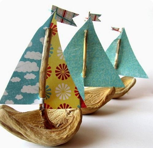 Walnut Shell Boats