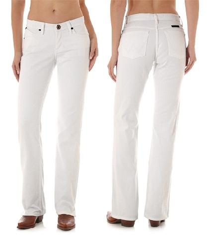 White Wrangler Women's Jeans