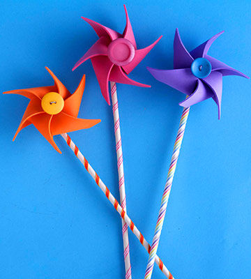 Windmill Pencil Topper