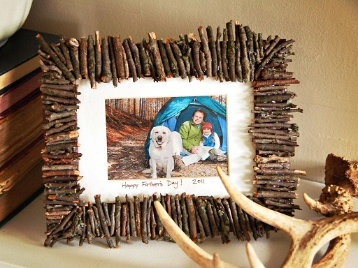 Wooden Craft Photo Frame