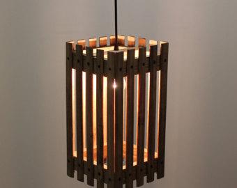Wooden Lamp Craft