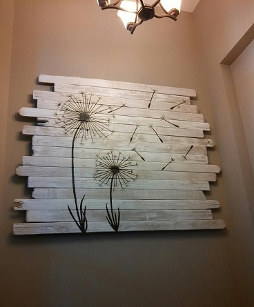 Wooden Painting Board