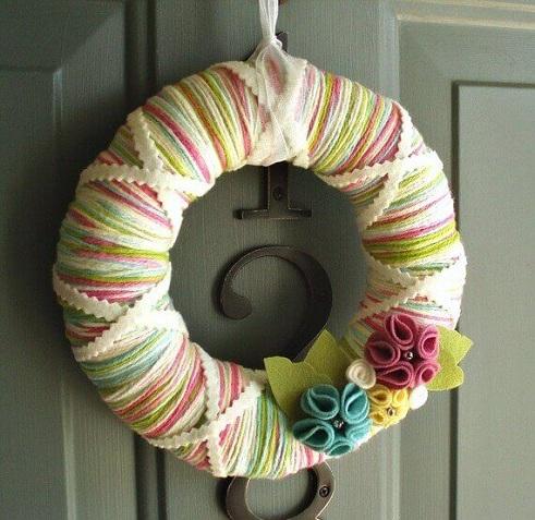 Woolen Wreath