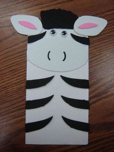 zebra craft ideas 9 zoo animal crafts design ideas for styles at 3282