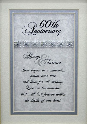 9 Best 60th Wedding Anniversary Celebration Gift Ideas With Images ...