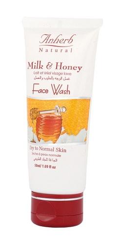 A Herb Milk Honey Face Wash