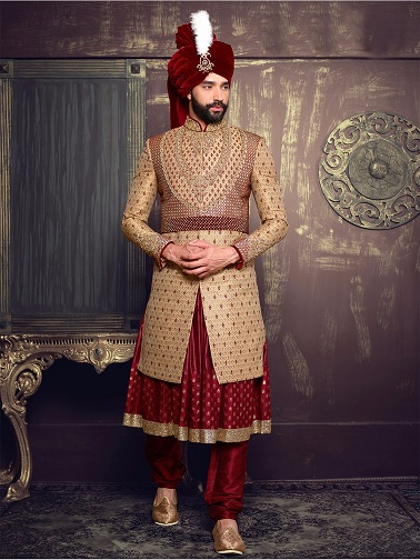 Asian Style Kurta for Groom