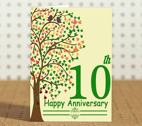 Happy Anniversary Card Gift
