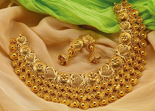 Baajirao Mastaani Gold Necklace Design