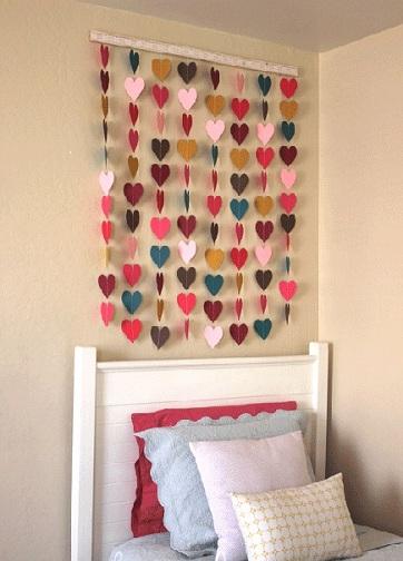 Bedroom Hangings Craft Ideas
