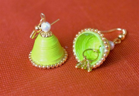 Bell Style Jhumkas