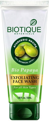 Biotique Bio Papaya Exfoliating Face Wash