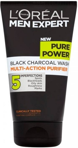 Black Charcoal Face Wash