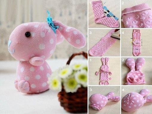 Bunny Socks Craft Ideas