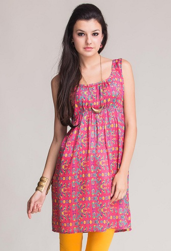 Casual Sleeveless Kurti