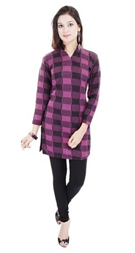 Casual Woolen Kurti for Winter
