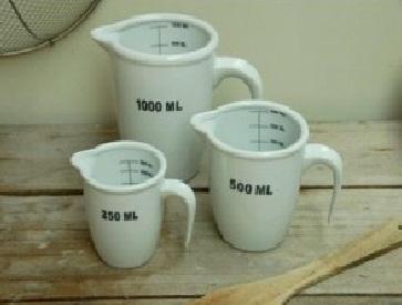 Ceramic Measuring Jars