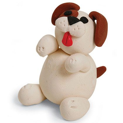 Clay Puppy