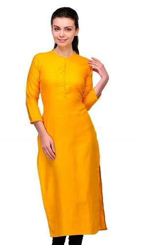 Closed Neckline Kurta Design