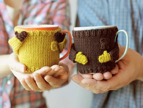 Coffee mug Cover Craft Ideas