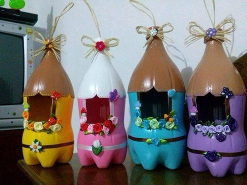 Coke Bottle Crafts Ideas