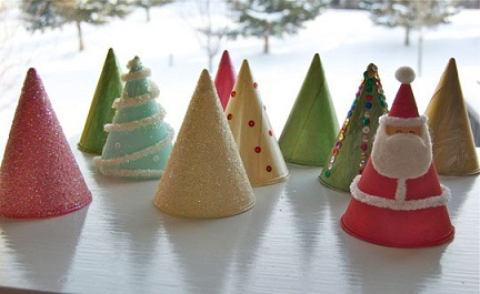 Cone Type Holiday Craft
