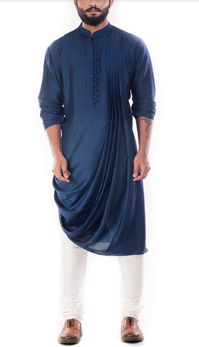 Cowl Draped Kurta