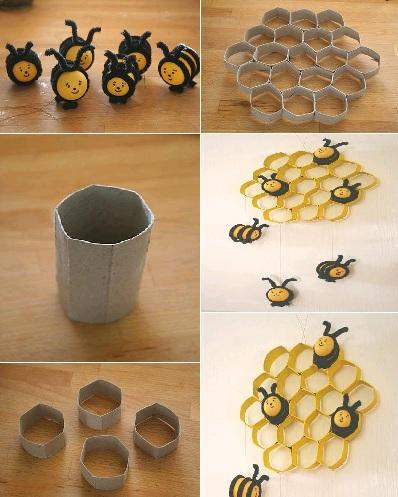 Creative Paper Wall Art Craft Ideas